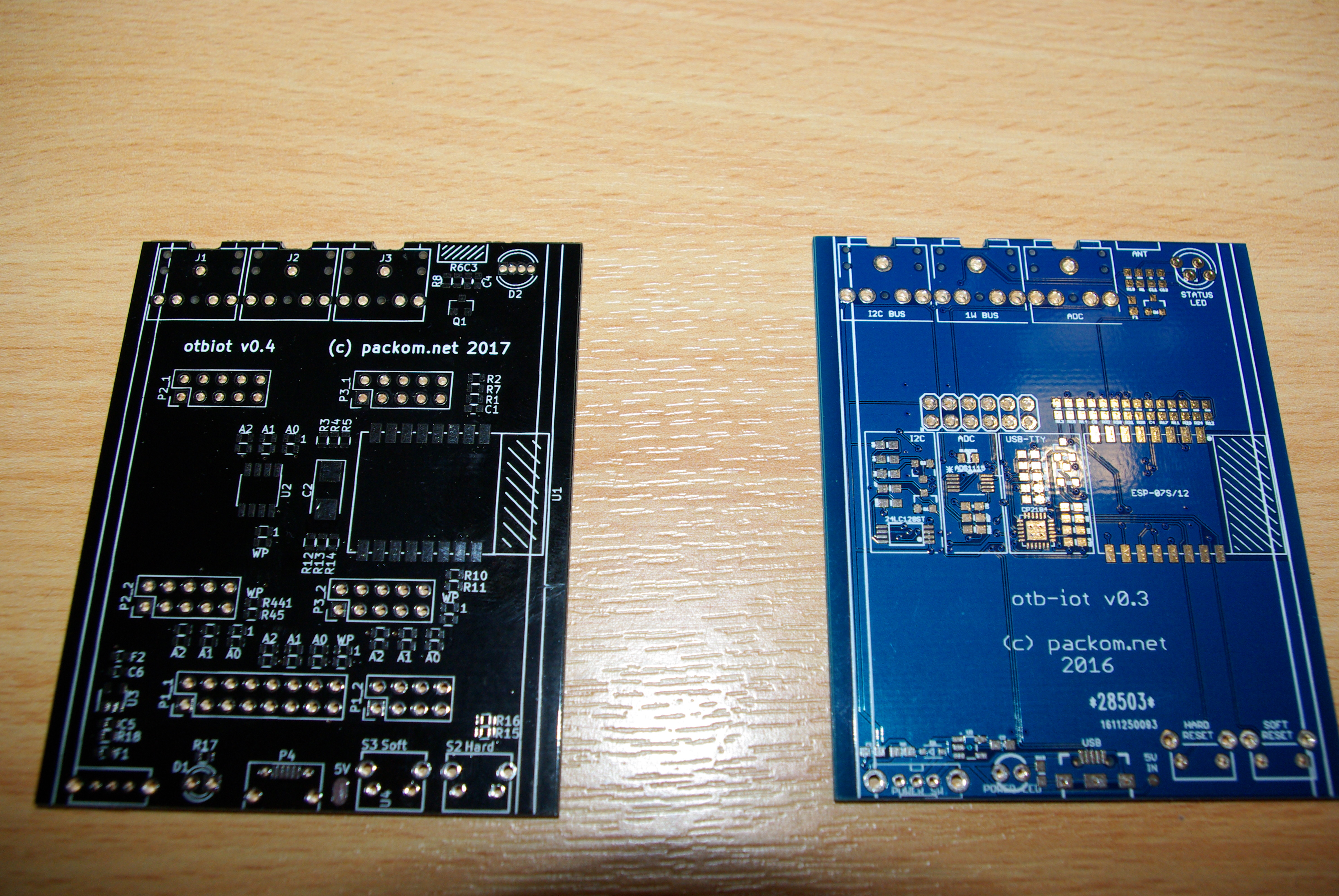 Seeed Studio vs Dirty PCBS front